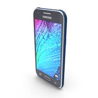 Samsung Galaxy J1 Blue PNG & PSD Images
