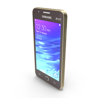 Samsung Z1 Red PNG & PSD Images