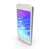 Samsung Z1 White PNG & PSD Images