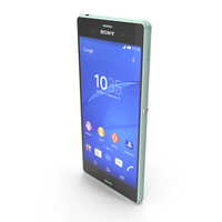 Sony Xperia Z3 Green PNG & PSD Images