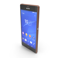 Sony Xperia Z3 Copper PNG & PSD Images