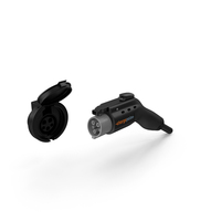 ChargePoint Electric Car Charging Plug Socket PNG & PSD Images