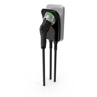 ChargePoint Electric Car Charging Plug PNG & PSD Images