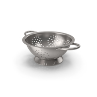 Colander Stainless Steel PNG & PSD Images