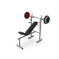 Bench for Bench Press PNG & PSD Images