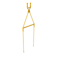Crane Fixed Pendant Link Yellow PNG & PSD Images