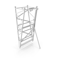 Crane F Intermediate Pivot Section White PNG & PSD Images