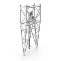 Crane WA Frame Pivot Section White PNG & PSD Images