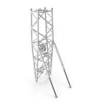 Crane WA Frame 2 Pivot Section White PNG & PSD Images