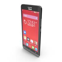 Asus ZenFone 6 Black Color PNG & PSD Images