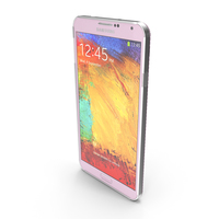 Samsung Galaxy Note 3 Pink PNG & PSD Images