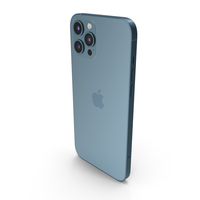 Apple iPhone 12 Pro Max Blue PNG & PSD Images