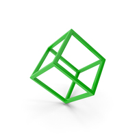 Cube Green PNG & PSD Images
