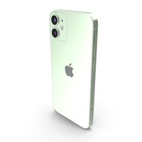 Apple iPhone 12 Mini Green PNG & PSD Images