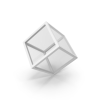 Glass Cube White PNG & PSD Images