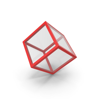 Red Glass Cube PNG & PSD Images