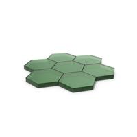 Hexagon Mosaic Glass PNG & PSD Images