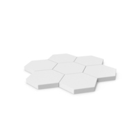 Hexagon Mosaic PNG & PSD Images