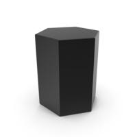Black Hexagon PNG & PSD Images