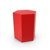 Red Hexagon PNG & PSD Images