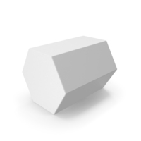 Hexagon White PNG & PSD Images