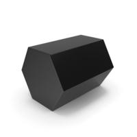 Hexagon Black PNG & PSD Images