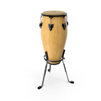 Conga Meinl Marathon with Basket Stand Light PNG & PSD Images