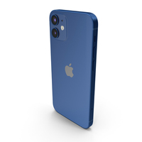 Apple iPhone 12 Mini Blue PNG & PSD Images