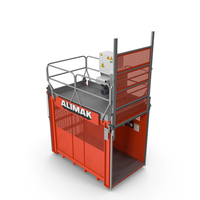 Construction Lift Cabin PNG & PSD Images