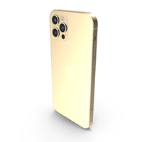 Apple iPhone 12 Pro Gold PNG & PSD Images