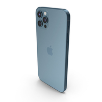 Apple iPhone 12 Pro Blue PNG & PSD Images