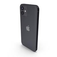 Apple iPhone 12 Black PNG & PSD Images
