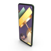 LG K42 Green PNG & PSD Images