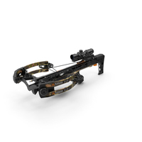 Crossbow Camouflage Mission Sub-1 XR with Arrow PNG & PSD Images