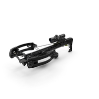 Crossbow Generic with Arrow and Scope PNG & PSD Images