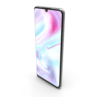 Xiaomi Mi Note 10 White PNG & PSD Images
