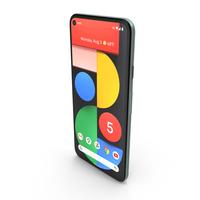 Google Pixel 5 Sorta Sage PNG & PSD Images