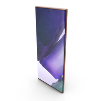 Samsung Galaxy Note20 Ultra Mystic Bronze PNG & PSD Images