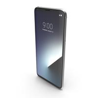 LG V30 Cloud Silver PNG & PSD Images