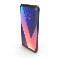 LG V30 Aurora Black PNG & PSD Images