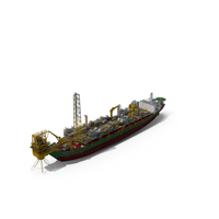 FPSO Floating Production Storage and Offloading Vessel PNG & PSD Images