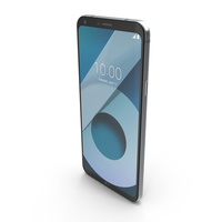 LG Q6 Alpha Black PNG & PSD Images