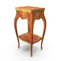Historic Louis XV Table PNG & PSD Images