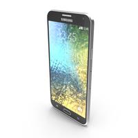 Samsung Galaxy E7 Black PNG & PSD Images