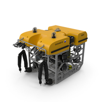ROV Remotely Operated Underwater Vehicle PNG & PSD Images