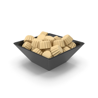 Bowl With Milky Chocolate PNG & PSD Images