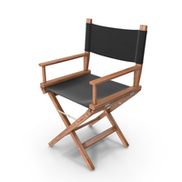 Director Chair Wood PNG & PSD Images