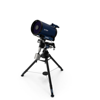 Meade LX850 telescope PNG & PSD Images