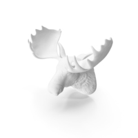 Deer Head Fake Wall Mount PNG & PSD Images