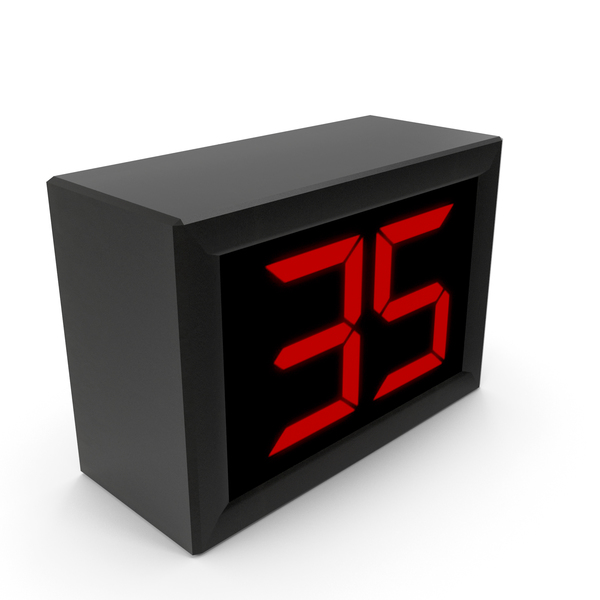 Animated Digital Countdown Timer/Clock PNG & PSD Images